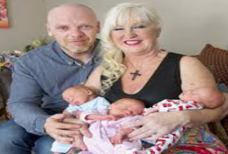 试管婴儿技术,让55岁的老奶奶成功诞下健康的三胞胎