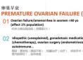 美国试管婴儿1对1问诊会:卵巢早衰的治疗方案