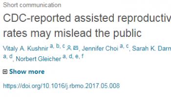 美国试管婴儿CDC报告正在愚弄公众?