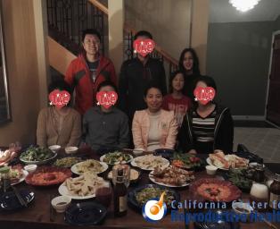陪客户在美国过中国年的经历